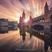 Winter Sunset Berlin by Marcus Klepper
