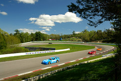 Moss Corner, Mosport - Trans-Am Racing