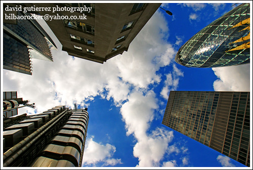 The City of London A.K.A. the Square Mile - London Skyscrapers ~ ART - chitecture  in the Sky ~