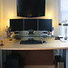 "Work Space circa 2009 - ""The Underdesk Project"""