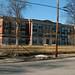 Small photo of Amityville Park South School under renovation