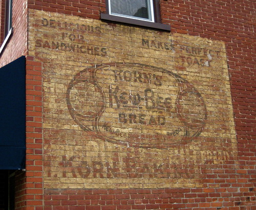 Korn's Bread Ghost Sign