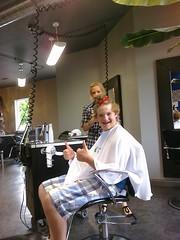 hairdresser, person, barber,