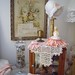 shabby chic vignette/living room