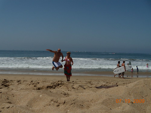 Fun at Newport Beach