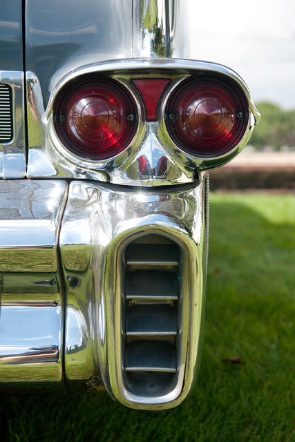 1958 Cadillac Fleetwood Sixty Special | Tail light fron a ...