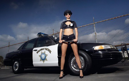 Phony Girl Cop Amp Police Crown Victoria Flickr Photo