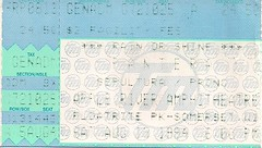08/13/94 Pantera/Sepultura/Prong @ Somerset, WI (Ticket)