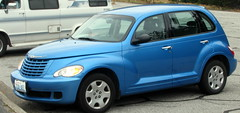 automobile, wheel, vehicle, automotive design, chrysler pt cruiser, city car, chrysler, land vehicle,