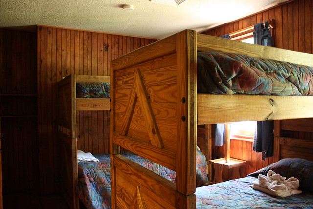 The Lodge Has Done Two Sets Of Bunk Beds