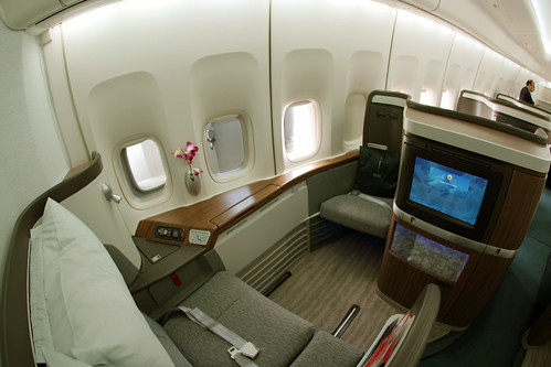 Cathay Pacific First Class bali