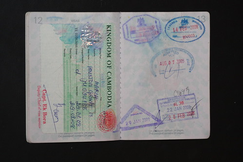 Cambodia, Thailand, and US visa