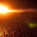 The Man burns, Burning Man 2009 by mr. nightshade
