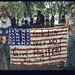 Punks with banner at protest,Tompkins Square Park, 1989 by Tamiment Library, NYU