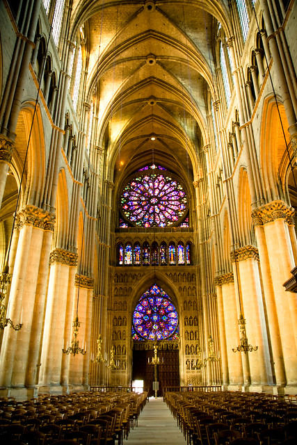 Reims Cathedral Interior | Flickr - Photo Sharing!