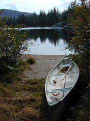 Canoe at Lake