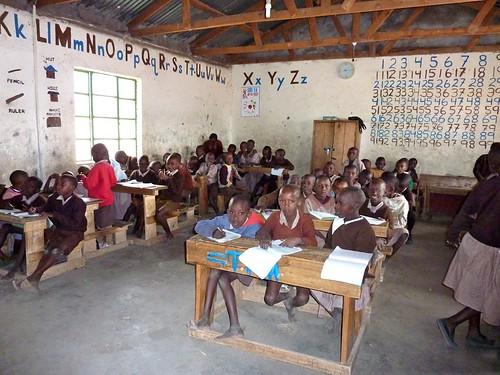 Classroom in Kenya