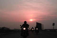 Sunrise riders