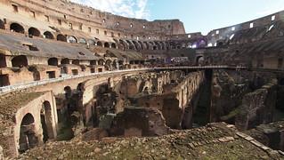 Image of Colosseum near Roma Capitale. trip20170208 rzym roma muzeumwatykańskie colosseum geo:lon=12492508 geo:lat=41890469