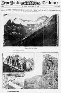 Scenes in the proposed new National Park among Montana's glaciers (LOC)