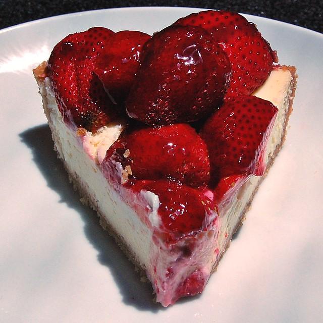 strawberry cheese pie | Flickr - Photo Sharing!