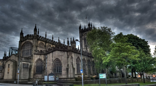 HDR Manchester Cathederal