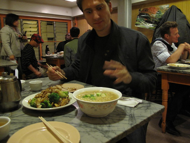 Late Night Eating At Sam Wo Restaurant Chinatown San