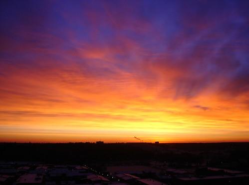 sky sunrise sweden stockholm