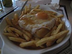 meal, junk food, steak frites, french fries, food, dish, cuisine,