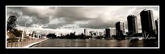 skyscraper, metropolis, cityscape, skyline, city, monochrome, panorama,