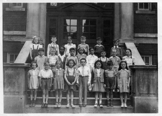 Carl school class Riverside school