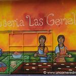 Most Colorful Pupuseria - Perquin, El Salvador