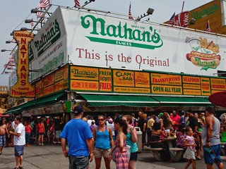 Hanging Out at Nathan's