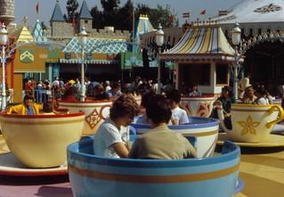 Mad Tea Party, Disneyland, 1979