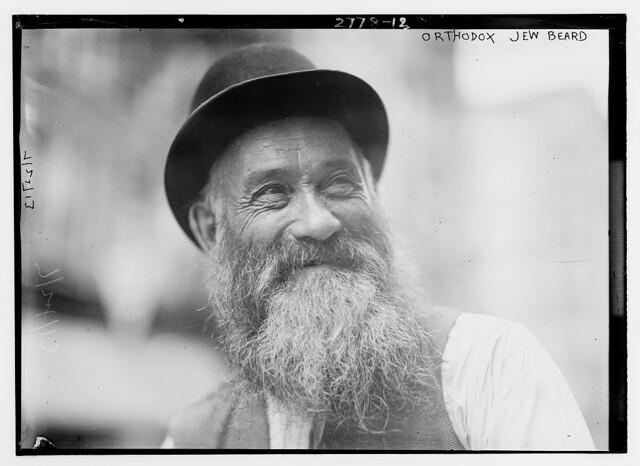 Orthodox Jew - beard  (LOC)