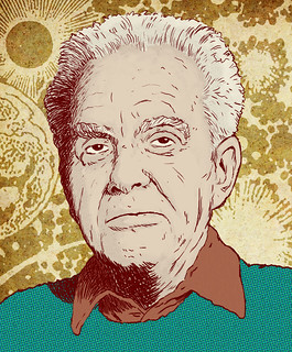 Jack Kirby Portrait | by J Garrattley
