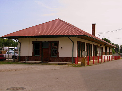 Sparta, TN NC&StL Depot