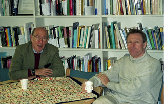Profs. Cole (UCSD) and Engestrom, University of Helsinki, 2002