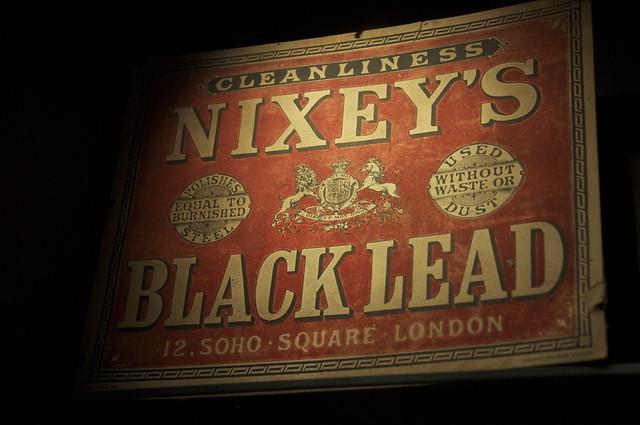 black lead
