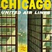 Chicago United Air Lines Ad