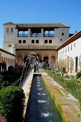 La Alhambra. Granada. Spain.