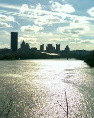 That day you thought the Allegheny actually shined...