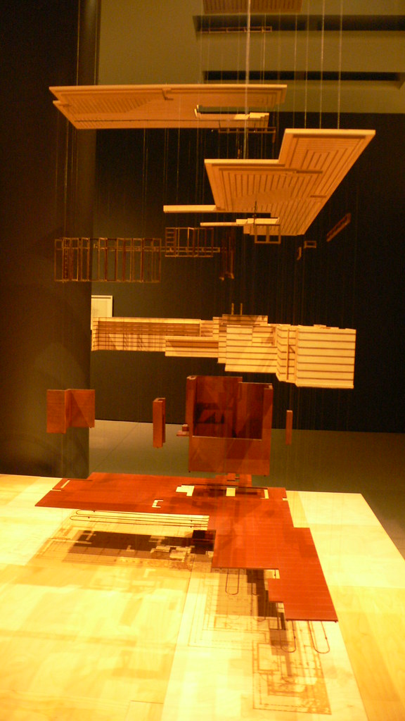A Model Of The Herbert Jacobs House By Situ Studio Archi