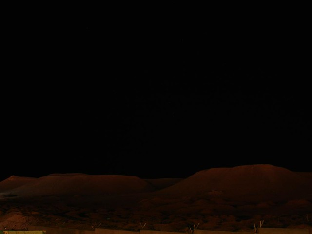 Sand dunes at night | Flickr - Photo Sharing!