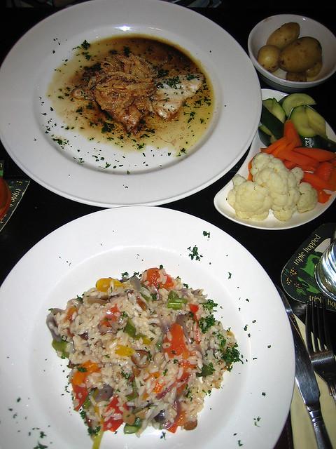 White Hart dinner
