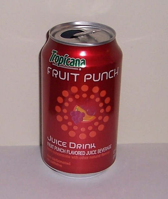 Tropicana Fruit Punch Can