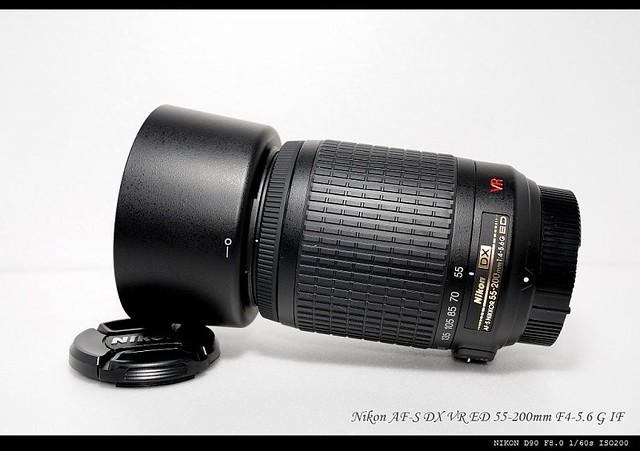 Nikon AF-S 55-200mm vr