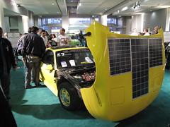 solar power, muscle car