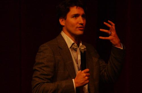 Justin Trudeau speaks at the University of Waterloo