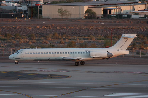 Unmarked DC-9